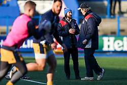 Bristol Rugby media manager Tom Vaux - Rogan Thomson/JMP - 21/01/2017 - RUGBY UNION - Cardiff Arms Park - Cardiff, Wales - Cardiff Blues v Bristol Rugby - EPCR Challenge Cup.