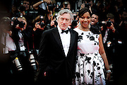 Robert De Niro and Grace Hightower arrives on the red carpet for the premiere of Pirates Of The Caribbean: On Stranger Tides  at the Festival Des Palais  during the 64th Cannes Film Festival in Cannes, France sat may 14May 2011.