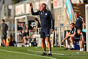 Torquay United manager Gary Owers during the Pre-Season Friendly match between Torquay United and Forest Green Rovers at Plainmoor, Torquay, England on 10 July 2018. Picture by Shane Healey.