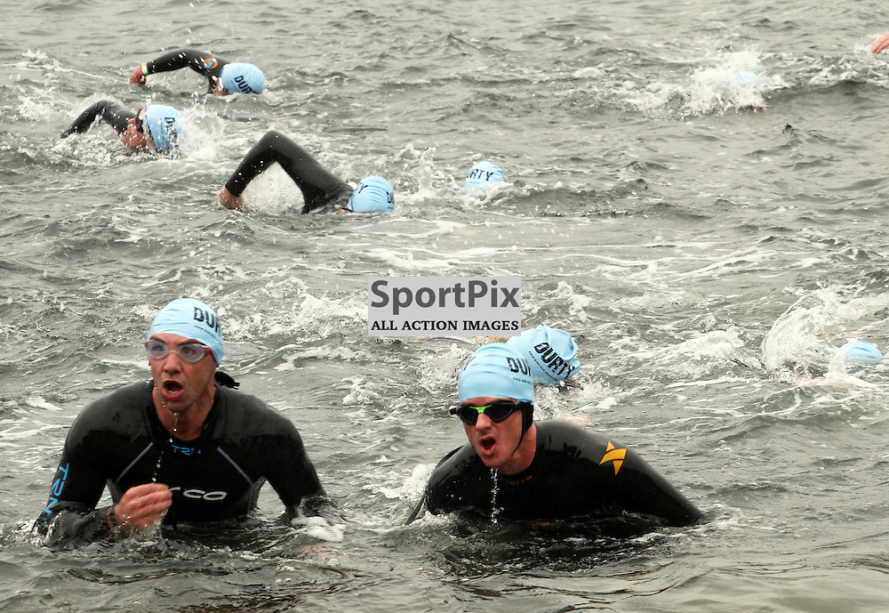 200 swimmers entered  the water to swim 550m to the Island of Kerrera as first part of the Craggy Island triathlon in its 2nd year with over 400 entrants the competition having to be spread over 2 days ..Kevin McGllynn(c)  | StockPix.eu