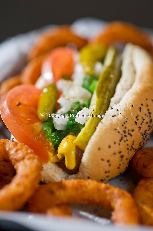 Feltner Brothers burgers and franks. Fayetteville, Arkansas Food photography from Feltner Brothers burgers and Franks in Fayetteville, Arkansas, for a magazine feature.
