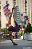 Dance As Art The New York City Photography Project Park Avenue Series with dancer Daniel White