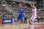 Porec 09 Agosto 2012 - Amichevole Croazia Italia<br /> Nella Foto : DAVID CHIOTTI<br /> Foto Ciamillo