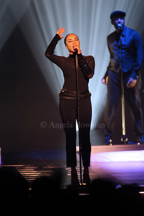 (070611  Boston, MA) Sade performs at the TD Garden, Wednesday,  July 06, 2011.  Staff photo by Angela Rowlings.