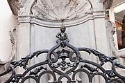 Statue of Manneken Pis, Brussels, Belgium