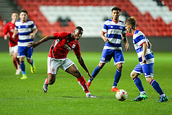 Shabazz Omofe of Bristol City U23 - Rogan Thomson/JMP - 17/10/2016 - FOOTBALL - Ashton Gate Stadium - Bristol, England - Bristol City U23 v Queens Park Rangers U23 - U23 Professional Development League 2 (South Division).