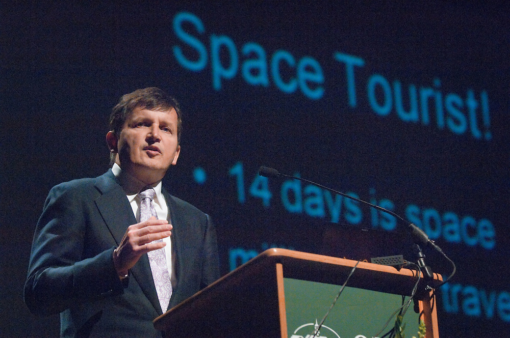 18904Frontiers in Science Lecture Charles Simonyi(Space Tourist), Wed, May 21, 2008 in Memad...Charles Simonyi