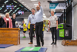 Bristol mayor Marvin Rees visits - Mandatory by-line: Ryan Hiscott/JMP - 24/05/2018 - RUGBY, GYMNASTICS, TENNIS, BASKETBALL, BADMINTON, CRICKET - Ashton Gate Stadium - Bristol, England - Celebration of Sport Week