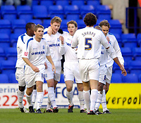 Photo: Jed Wee.<br />Tranmere Rovers v Swansea City. Coca Cola League 1.<br />26/11/2005.<br />Tranmere celebrate their opening goal.
