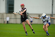 24/09/2016, Intermediate Camogie Final at Trim.<br /> Boardsmill vs Dunderry<br /> Aoife Minogue (Dunderry) & Leanne Bagnall (Boardsmill)<br /> Photo: David Mullen /www.cyberimages.net / 2016<br /> ISO: 800; Shutter: 1/1328; Aperture: 4; <br /> File Size: 2.7MB<br /> Print Size: 8.6 x 5.8 inches