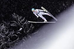18.01.2019, Wielka Krokiew, Zakopane, POL, FIS Weltcup Skisprung, Zakopane, Qualifikation, im Bild Michael Hayboeck (AUT) // Michael Hayboeck of Austria during his Qualification Jump of FIS Ski Jumping World Cup at the Wielka Krokiew in Zakopane, Poland on 2019/01/18. EXPA Pictures © 2019, PhotoCredit: EXPA/ JFK