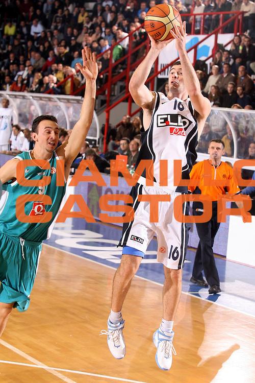 DESCRIZIONE : Napoli Eurolega 2006-07 Eldo Napoli Pau Orthez<br />GIOCATORE : Malaventura<br />SQUADRA : Eldo Napoli<br />EVENTO : Eurolega 2006-2007 <br />GARA : Eldo Napoli Pau Orthez <br />DATA : 23/11/2006 <br />CATEGORIA : Tiro<br />SPORT : Pallacanestro <br />AUTORE : Agenzia Ciamillo-Castoria/G.Ciamillo