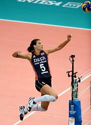 01-10-2014 ITA: World Championship Volleyball Servie - Nederland, Verona<br /> Nederland verliest met 3-0 van Servie en is kansloos voor plaatsing final 6 / Robin de Kruijf