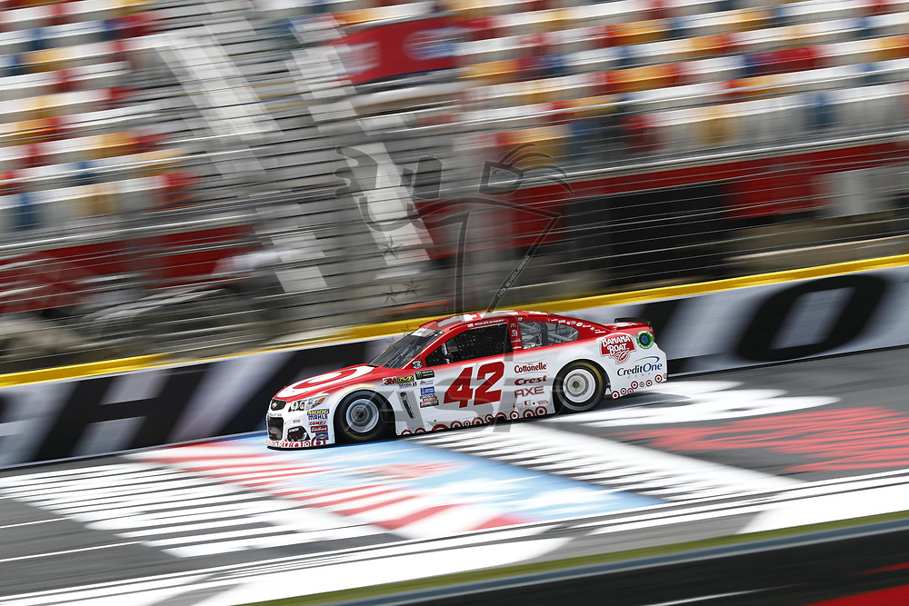 May 25, 2017 - Concord, NC, USA: Kyle Larson (42) takes to the track to practice for the Coca Cola 600 at Charlotte Motor Speedway in Concord, NC.