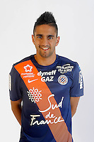 Ryad BOUDEBOUZ - 06.10.2015 - Photo officielle Montpellier - Ligue 1<br /> Photo : De Hullessen / Mhsc / Icon Sport