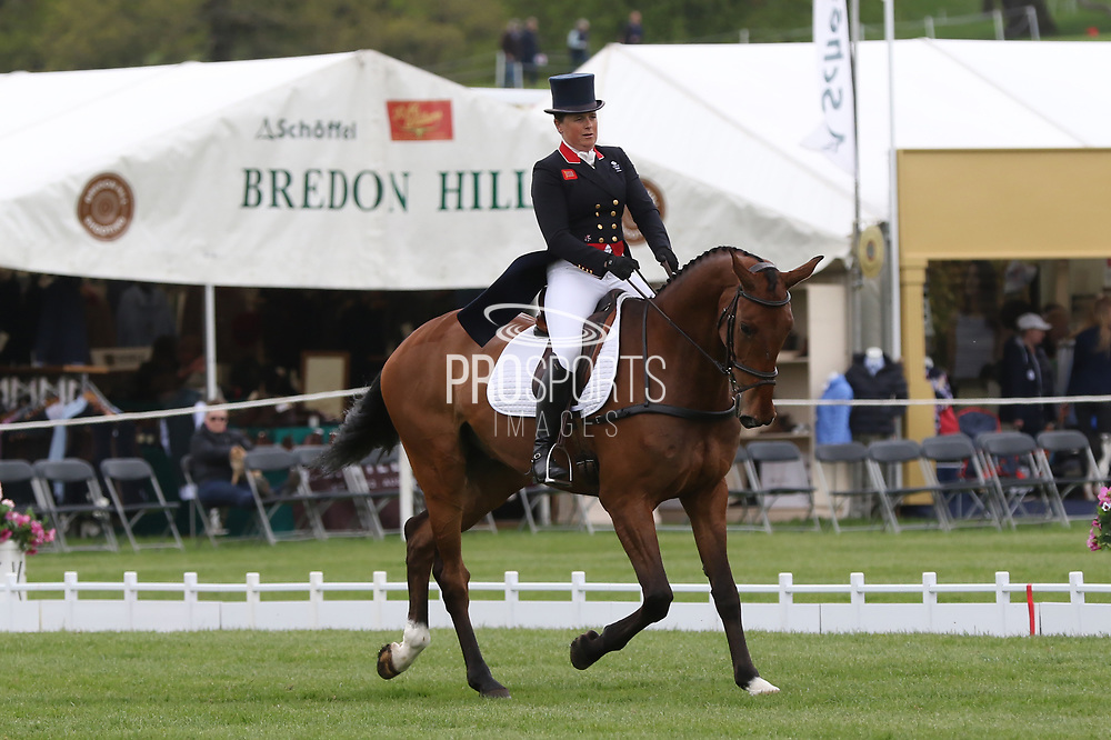 Pippa Funnell on Billy Walk On during the International Horse Trials at Chatsworth, Bakewell, United Kingdom on 11 May 2018. Picture by George Franks.