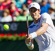 Tennis: BNP Paribas Open 2014 Andy Murray vs Lukas Rosol