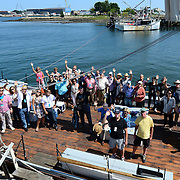 Taken at the 2013 PARMA Music Festival's special outing on the gundaolow Piscataqua, in Portsmouth, NH. August 18, 2013