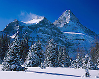 Mount Assiniboine in winter, Mounta Assiniboine Provincial Park British Columbia Canada
