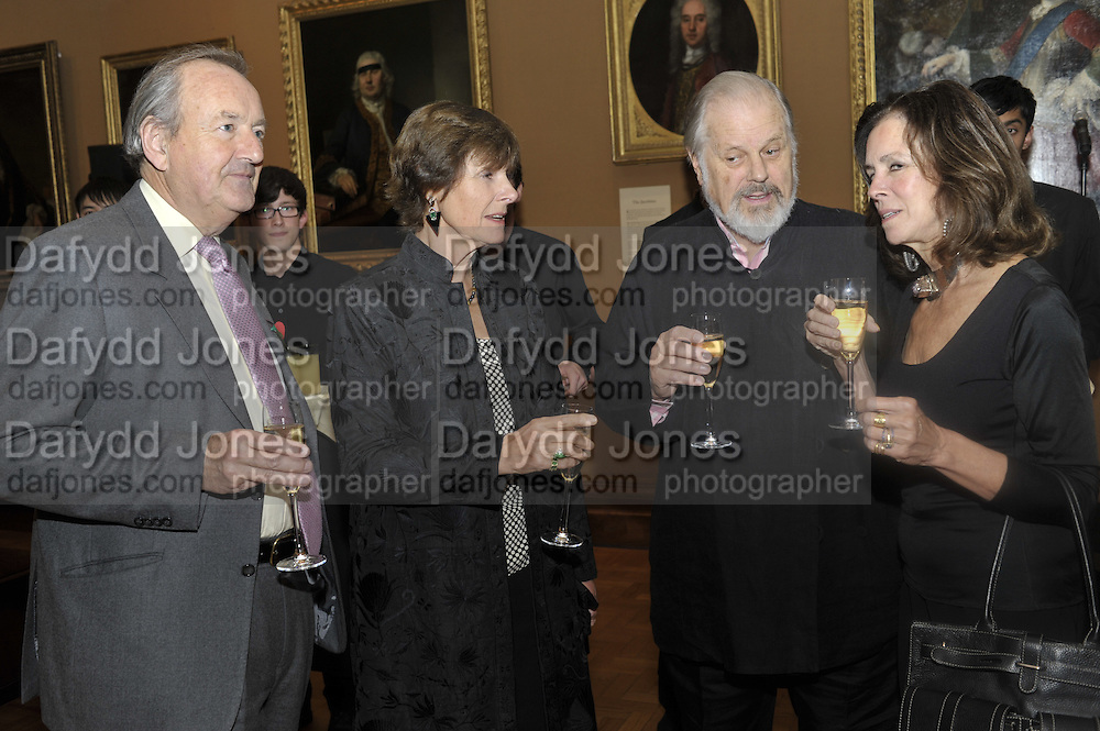 SIR MICHAEL PACKENHAM; BRIDGET BECK; SIR PHILIP BECK;; LADY MIMI PACKENHAM, Rothschild Wealth Management & Trust  and David Campbell  host a party to celebrate the publication of <br /> 'Made in Britain' -The Men and Women Who Shaped the Modern World by Adrian Sykes. National Portrait Gallery. London. 9 November 2011 <br /> <br /> <br />  , -DO NOT ARCHIVE-© Copyright Photograph by Dafydd Jones. 248 Clapham Rd. London SW9 0PZ. Tel 0207 820 0771. www.dafjones.com.