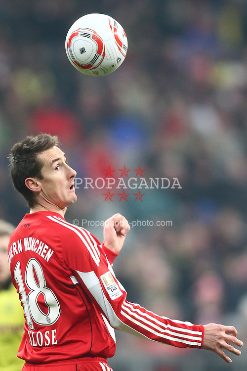 26.03.2011, Allianz Arena, Muenchen, GER, 1.FBL, FC Bayern Muenchen vs Borussia Dortmund, im Bild Miroslav Klose (Bayern #18)  , EXPA Pictures © 2011, PhotoCredit: EXPA/ nph/  Straubmeier       ****** out of GER / SWE / CRO  / BEL ******