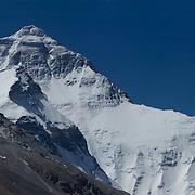 Massive panorama of the North Face of Mount Everest, Tibet, as seen from Rongbuk Basecamp, Tibet, China.<br /> <br /> To see the full, interactive version, please visit: http://www.gigapan.org/gigapans/152809.