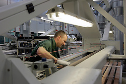 UK ENGLAND CREWE 5APR06 - Workers on the production line at the Bentley Factory in Crewe...jre/Photo by Jiri Rezac..© Jiri Rezac 2006..Contact: +44 (0) 7050 110 417.Mobile:  +44 (0) 7801 337 683.Office:  +44 (0) 20 8968 9635..Email:   jiri@jirirezac.com.Web:    www.jirirezac.com..© All images Jiri Rezac 2006 - All rights reserved.