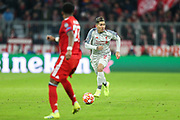 Liverpool forward Roberto Firmino (9) during the Champions League match between Bayern Munich and Liverpool at the Allianz Arena, Munich, Germany, on 13 March 2019.