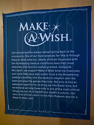 Make-A-Wish at Microsoft, February 12, 2018.  Photo credit required - Photo by Merrill Images.