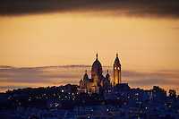 France, Paris (75), la basilique du Sacré-C?ur et la butte Montmartre // France, Paris, Sacre Coeur Basilica