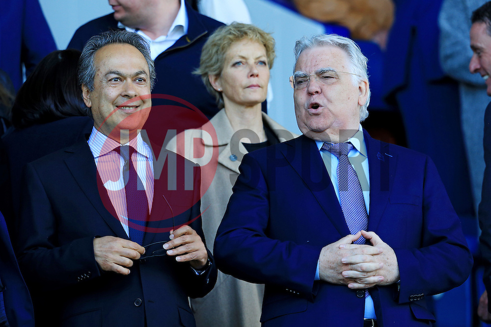 Everton owner Farhad Moshiri and chairman Bill Kenwright  - Mandatory byline: Matt McNulty/JMP - 15/05/2016 - FOOTBALL - Goodison Park - Liverpool, England - Everton v Norwich City - Barclays Premier League