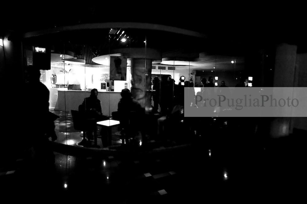 BAT 15 ottobre 2011.Visita a locoli notturni Babalù, Divine Follie, Pronto Soccorso..Puglia Experience 2011.Apulia Film Commission.III edizione del workshop di scrittura internazionale AAW PugliaExperience.