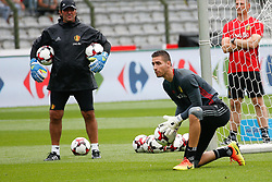 June 3, 2017 - Brussels, BELGIUM - Belgium's goalkeeper Koen Casteels pictured during a training of Belgian national soccer team Red Devils, Saturday 03 June 2017, in Brussels. Belgium plays a friendly game against Czech Republic on 05 June and a World Cup 2018 qualifier in Estonia. BELGA PHOTO BRUNO FAHY (Credit Image: © Bruno Fahy/Belga via ZUMA Press)