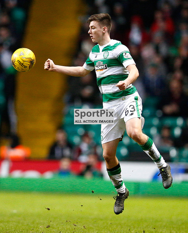 Celtic v St.Johnstone in the Ladbrokes Premiership....Kieran Tierney in action .....(c) STEPHEN LAWSON | SportPix.org.uk