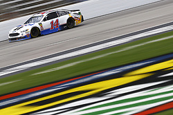 April 8, 2018 - Ft. Worth, Texas, United States of America - April 08, 2018 - Ft. Worth, Texas, USA: Clint Bowyer (14) brings his race car down the front stretch during the O'Reilly Auto Parts 500 at Texas Motor Speedway in Ft. Worth, Texas. (Credit Image: © Chris Owens Asp Inc/ASP via ZUMA Wire)