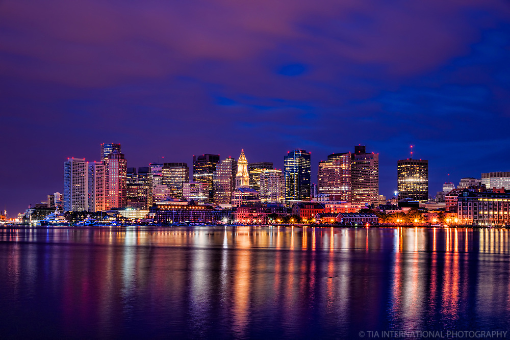 Boston Harbor @ Blue Hour