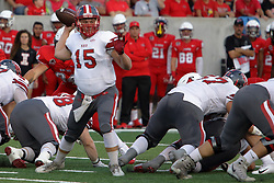 NORMAL, IL - September 01: Alex Martinez during a college football game between the ISU (Illinois State University) Redbirds and the Saint Xavier Cougars on September 01 2018 at Hancock Stadium in Normal, IL. (Photo by Alan Look)