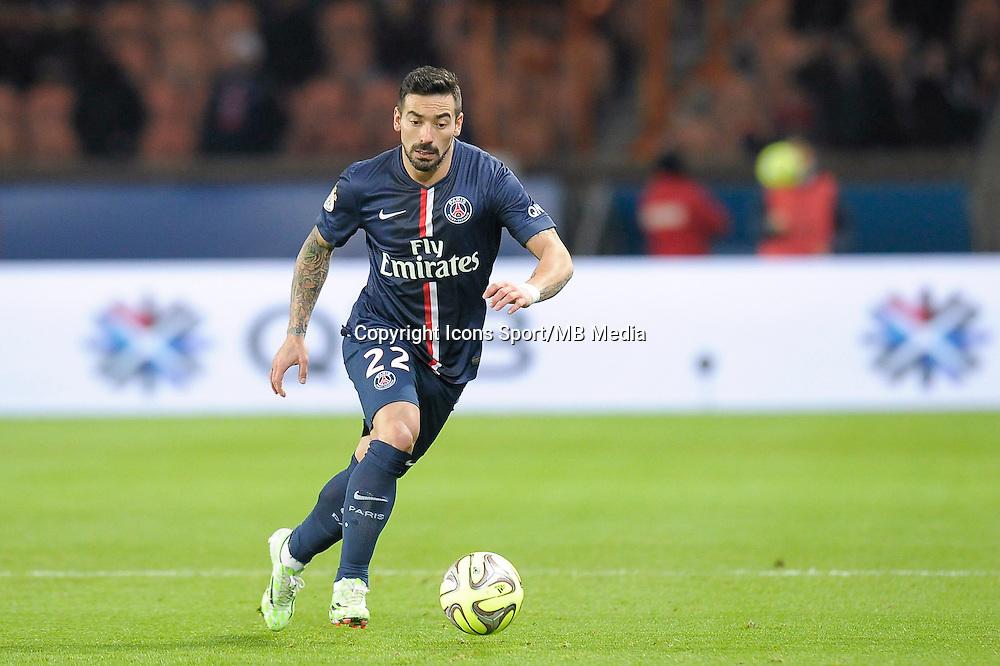 Ezequiel Lavezzi - 06.12.2014 - PSG / Nantes - 17eme journee de Ligue 1<br />Photo : Andre Ferreira / Icon Sport