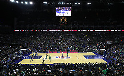 General view of play during the NBA London Game 2018 at the O2 Arena, London. PRESS ASSOCIATION Photo. Picture date: Thursday January 11, 2018. See PA story BASKETBALL London. Photo credit should read: Simon Cooper/PA Wire. RESTRICTIONS: Editorial use only, No commercial use without prior permission
