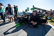 October 1, 2016: IMSA Petit Le Mans, #16 Richard Antinucci, Corey Lewis, Change Racing, Lamborghini Huracán GT3