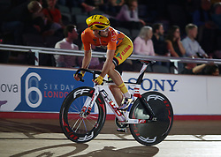 Netherlands' Melvin Van Zijl during day five of the Six Day Series at Lee Valley Velopark, London