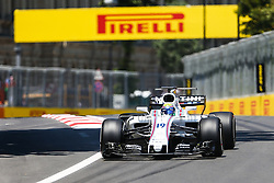 June 23, 2017 - Baku, Azerbaijan - Brazil Formula One driver Felipe Massa of Williams Martini Racing F1 Team in action during the first practice session of the Formula One Grand Prix of Azerbaijan at the Baku City Circuit. The 2017 Formula One Grand Prix of Azerbaijan will take place on 25 June. (Credit Image: © Aziz Karimov/Pacific Press via ZUMA Wire)