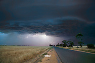 electrical storm in the Western District VIC