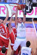 TRENTO TRENTINO BASKET CUP - 07082013 - ITALIA GEOGIA<br /> NELLA FOTO : MARCO CUSIN<br /> FOTO CIAMILLO