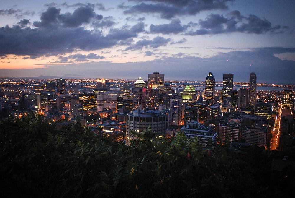 Vue de Montréal