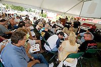 Metz Collectibles auction on Saturday July 24, 2010.  (Karen Bobotas/for the Laconia Daily Sun).
