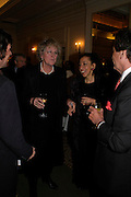 Germaine Greer and Whitbread prizewinner Andrea  Levy. South Bank Show Awards, The Savoy Hotel. London. 27 January 2005. ONE TIME USE ONLY - DO NOT ARCHIVE  © Copyright Photograph by Dafydd Jones 66 Stockwell Park Rd. London SW9 0DA Tel 020 7733 0108 www.dafjones.com