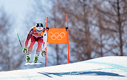 13.02.2018, Jeongseon Alpine Centre, Pyeongchang, KOR, PyeongChang 2018, Ski Alpin, Herren, Kombination, im Bild Justin Murisier (SUI) // Justin Murisier of Switzerland during the Mens Ski Men's Alpine Combined of the Pyeongchang 2018 Winter Olympic Games at the Jeongseon Alpine Centre in Pyeongchang, South Korea on 2018/02/13. EXPA Pictures © 2018, PhotoCredit: EXPA/ Johann Groder
