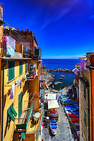 """A day in the life of Riomaggiore""…<br />