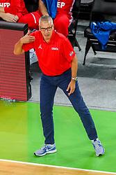 Aleksandar Petrovic, head coach of Croatia during friendly basketball match between Slovenia and Croatia before European Championships 2017, on August 24, 2017 in SRC Stozice, Ljubljana, Slovenia. Photo by Matic Klansek Velej / Sportida
